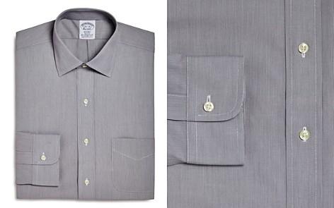 Brooks Brothers Micro Stripe Regular Fit Dress Shirt - Bloomingdale's_2