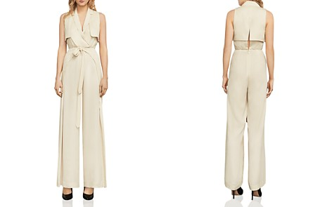 BCBGMAXAZRIA Beckett Trench Jumpsuit - Bloomingdale's_2