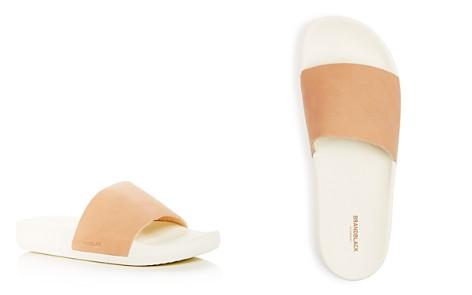 Brandblack Men's Kashiba Luxe Leather Slide Sandals - Bloomingdale's_2