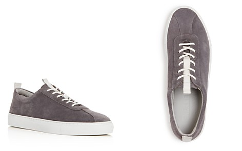 Grenson Men's Suede Lace Up Sneakers - Bloomingdale's_2