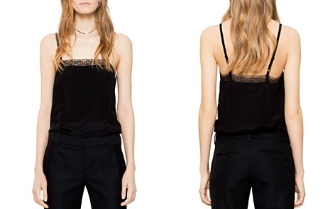 Zadig & Voltaire Carmen Silk Camisole Top - Bloomingdale's_2