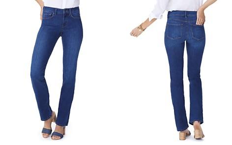 NYDJ Petites Marilyn Straight Jeans in Cooper - Bloomingdale's_2