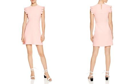 Sandro Laurena Pleat-Detail Mini Dress - Bloomingdale's_2