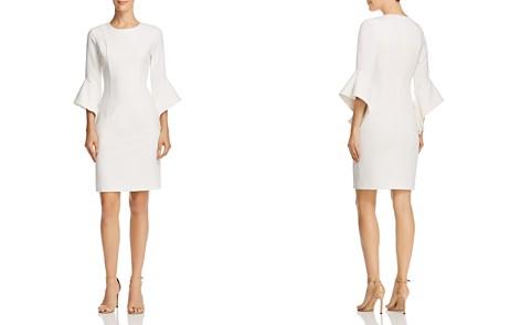 Black Halo Lorie Bell-Sleeve Dress - 100% Exclusive - Bloomingdale's_2