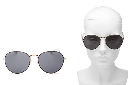 Givenchy Women's Round Sunglasses, 60mm - Bloomingdale's_2