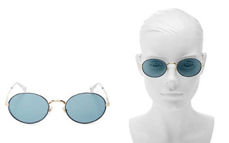 Givenchy Women's Mirrored Round Sunglasses, 51mm - Bloomingdale's_2