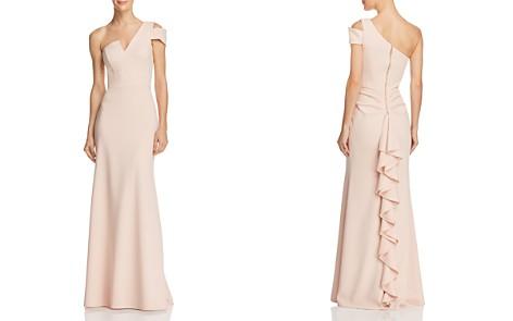 AQUA One-Shoulder Ruffled Gown - 100% Exclusive - Bloomingdale's_2