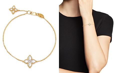 Roberto Coin 18K Yellow Gold Venetian Princess Diamond & Mother-of-Pearl Bracelet - Bloomingdale's_2