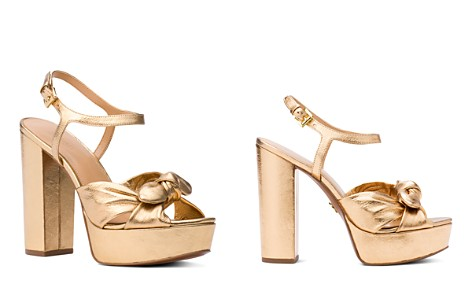 MICHAEL Michael Kors Women's Pippa Leather Platform High-Heel Sandals - Bloomingdale's_2