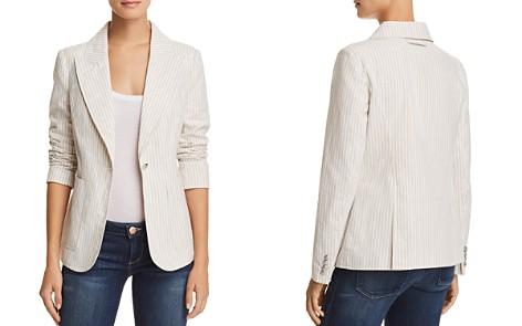 AQUA Striped One-Button Blazer - 100% Exclusive - Bloomingdale's_2