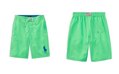 Polo Ralph Lauren Boys' Solid Big Pony Swim Trunks - Big Kid - Bloomingdale's_2