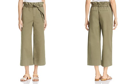 FRAME High Rise Cropped Pants - Bloomingdale's_2