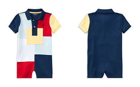 Ralph Lauren Boys' Patchwork Shortall - Baby - Bloomingdale's_2