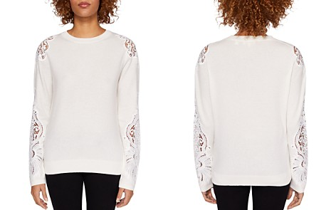 Ted Baker Shelsin Lace-Inset Sweater - Bloomingdale's_2