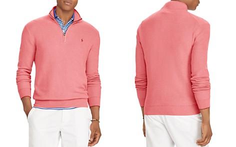 Polo Ralph Lauren Half-Zip Cotton Sweater - Bloomingdale's_2
