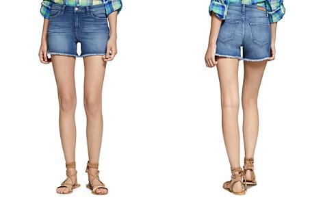 Sanctuary Frayed Hem Denim Shorts in Mia - Bloomingdale's_2