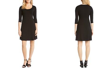 Karen Kane Three Quarter Sleeve A-Line Dress - Bloomingdale's_2