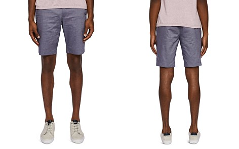 Ted Baker Herbosh Mini Herringbone Shorts - Bloomingdale's_2