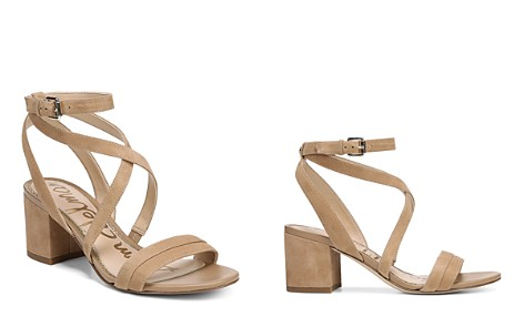 Sam Edelman Women's Sammy Suede Strappy Block Heel Sandals - Bloomingdale's_2