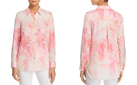 Elie Tahari Nailah Botanical-Print Silk Shirt - Bloomingdale's_2
