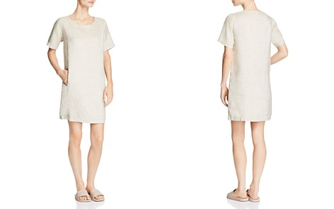 Eileen Fisher Sparkling Pocket Shift Dress - Bloomingdale's_2