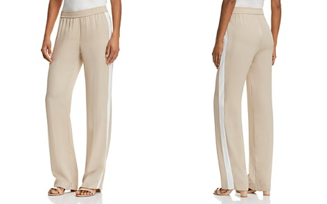 Theory Silk Track Pants - Bloomingdale's_2