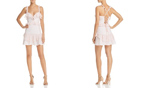 For Love & Lemons Dixie Ruffled Gingham Dress - Bloomingdale's_2
