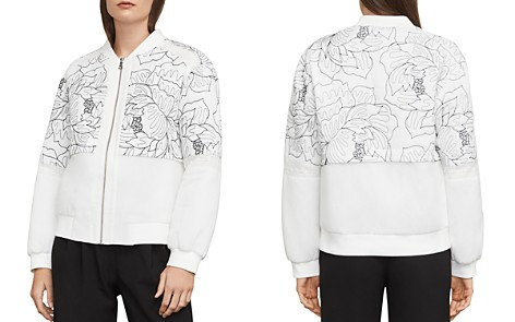 BCBGMAXAZRIA Tessa Embroidered Bomber Jacket - Bloomingdale's_2