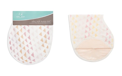 Aden and Anais Cotton Muslin Metallic-Print Burpy Bib - Bloomingdale's_2