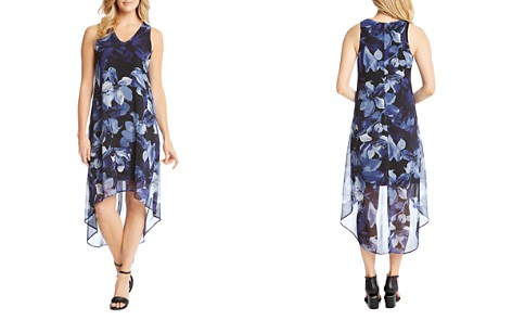 Karen Kane Floral-Print High/Low Hem Dress - Bloomingdale's_2