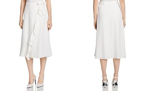 Calvin Klein Ruffle-Trim Skirt - Bloomingdale's_2