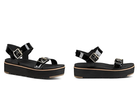 UGG® Women's Angie Leather Platform Sandals - Bloomingdale's_2