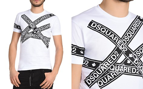 DSQUARED2 Logo Tape Crewneck Tee - Bloomingdale's_2