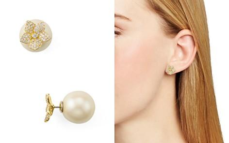 kate spade new york Pave Bloom Reversible Stud Earrings - Bloomingdale's_2