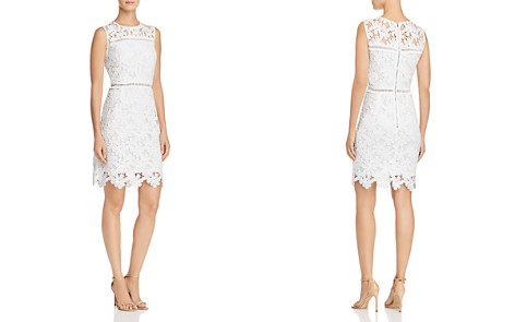 AQUA Floral Lace Sheath Dress - 100% Exclusive - Bloomingdale's_2