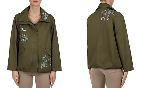 Gerard Darel Riviera Embroidered Parka - Bloomingdale's_2