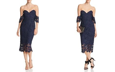 SAU LEE Ella Off-the-Shoulder Lace Dress - Bloomingdale's_2