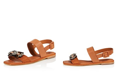 Tory Burch Women's Delaney Embellished Leather Sandals - Bloomingdale's_2