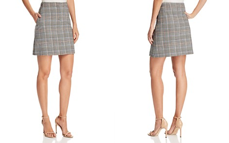 Theory Plaid Mini Skirt - Bloomingdale's_2