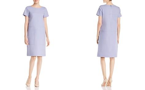 Lafayette 148 New York Farah Paneled Shift Dress - Bloomingdale's_2