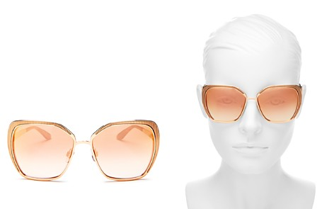 Dolce&Gabbana Women's Square Sunglasses, 56mm - Bloomingdale's_2