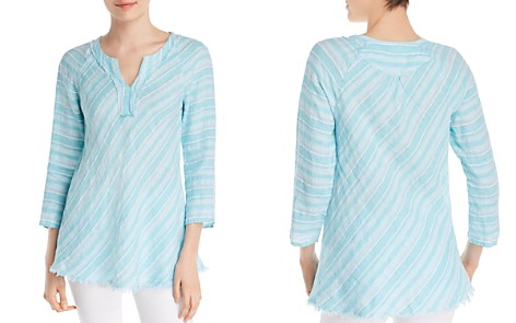 NIC + ZOE Freshwater Striped Top - 100% Exclusive - Bloomingdale's_2