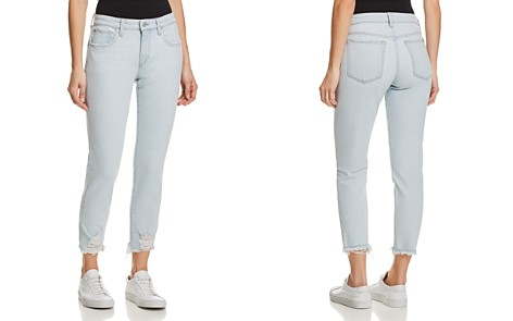 Joe's Jeans Smith Crop Straight Jeans in Liya - Bloomingdale's_2