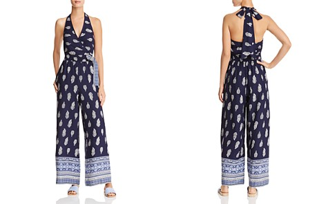 Band of Gypsies Bandana Wide-Leg Jumpsuit - Bloomingdale's_2