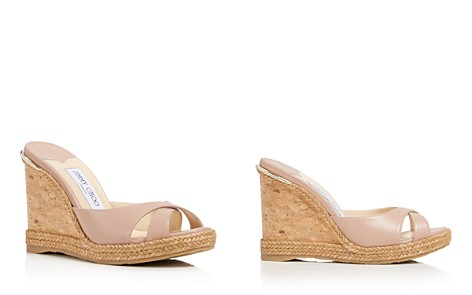 Jimmy Choo Women's Almer Leather & Braid Trim Platform Wedge Slide Sandals - Bloomingdale's_2