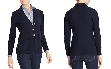 Lauren Ralph Lauren Knit Sweater Blazer - Bloomingdale's_2