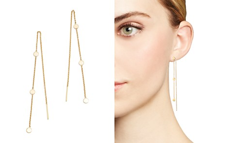Zoë Chicco 14K Yellow Gold Itty Bitty Triple Disc Threader Earrings - Bloomingdale's_2