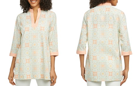 Foxcroft Printed Tunic - Bloomingdale's_2