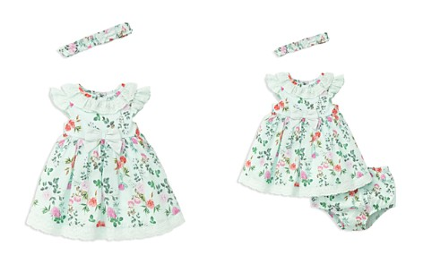 Little Me Girls' Garden Party Dress, Headband & Bloomers Set - Baby - Bloomingdale's_2