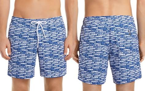 Lacoste Pattern Taffeta Swim Trunks - Bloomingdale's_2